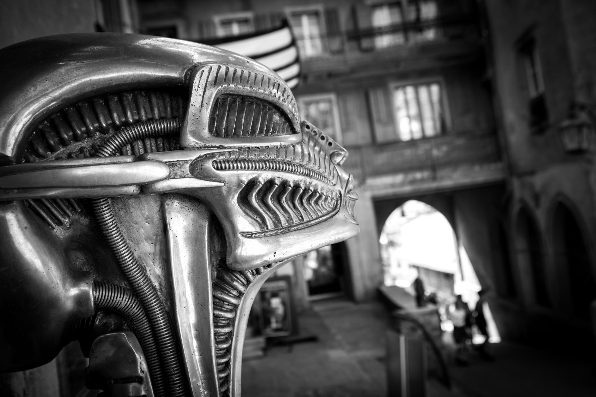 H.R.Giger Alien - Gruyères / Switzerland