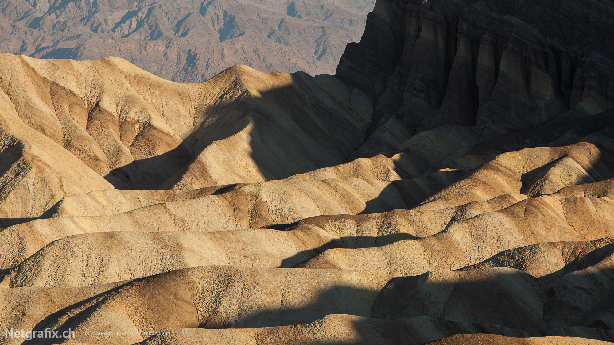 Zabriskie point - Death Valley CA