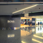 Doha airport terminal shopping area